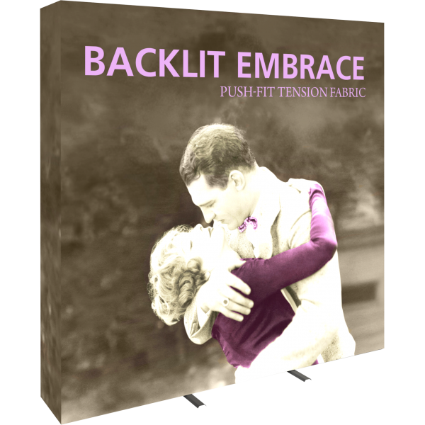 Embrace 7.5ft Backlit Push-Fit Tension Fabric Display