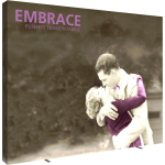 Embrace 12.5ft Extra Tall Push-Fit Tension Fabric Display