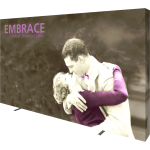 Embrace 12.5ft Full Height Push-Fit Tension Fabric Display