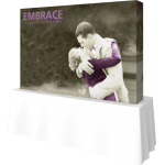 Embrace 8ft Tabletop Push-Fit Tension Fabric Display