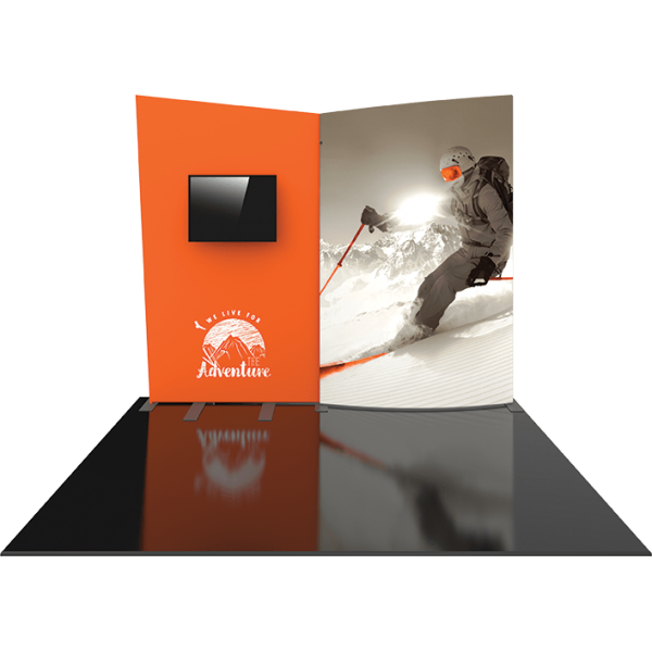 Formulate Designer Series 10ft Fabric Backwall Kit 09