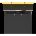 Formulate Designer Series 10ft Fabric Backwall Kit 13