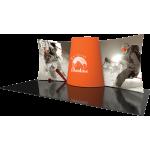 Formulate Designer Series 20ft Fabric Backwall Kit 03