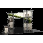 Gemini Orbital Express Truss 20x20 Modular Island Exhibit