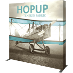 Hopup 8ft Straight Extra Tall Tension Fabric Display