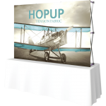 Hopup 8ft Straight Tabletop Tension Fabric Display