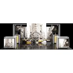 Hybrid Pro 20ft Modular Backwall Kit 11