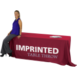 Imprinted Table Throw