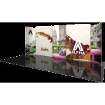 Modulate Series 5 20ft Fabric Backwall Kit 05
