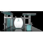 Onyx Orbital Express Truss 20x20 Modular Island Exhibit