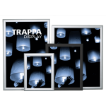 Trappa Poster Frame Display