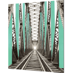 Vector Frame Edge S-03 Square Fabric Poster Display