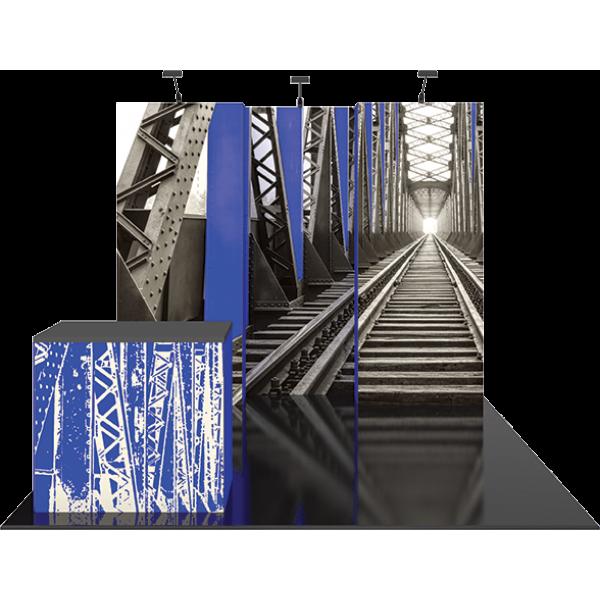 Vector Frame Essential 10ft Modular Backwall Kit 02