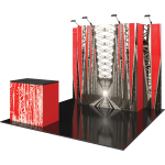 Vector Frame Essential 10ft Modular Backwall Kit 04
