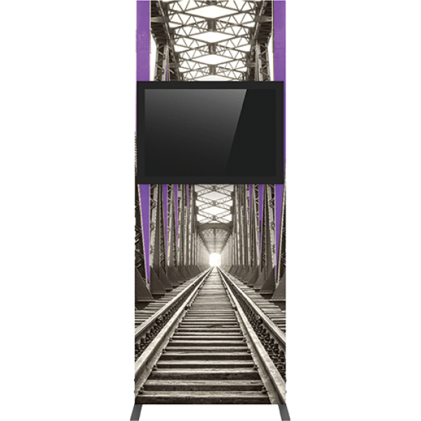 Vector Frame Monitor Kiosk 01 - Single Sided Monitor Mount
