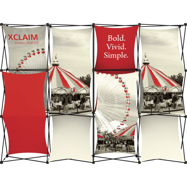 Xclaim 10ft Fabric Popup Display Kit 03