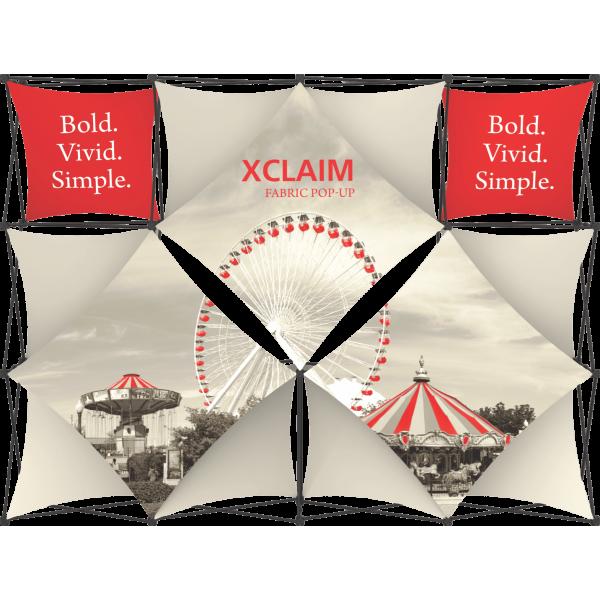 Xclaim 10ft Fabric Popup Display Kit 05