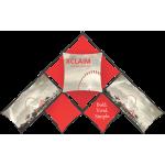 Xclaim 14ft 10 Quad Pyramid Fabric Popup Display Kit 01