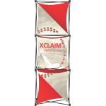 Xclaim 2.5ft Fabric Popup Display Kit 04
