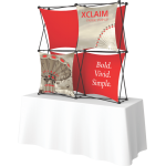 Xclaim 5ft Tabletop Fabric Popup Display Kit 01