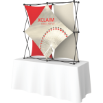 Xclaim 5ft Tabletop Fabric Popup Display Kit 02