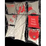 Xclaim 8ft Fabric Popup Display Kit 05