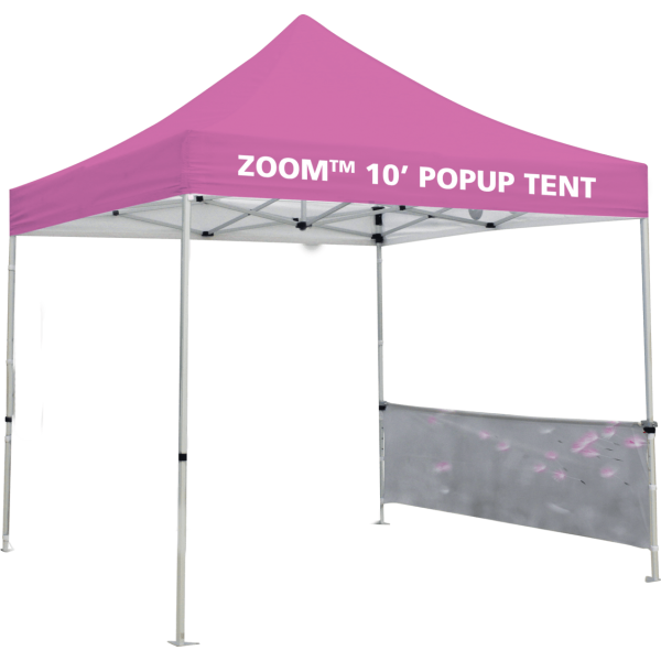 Zoom 10 Popup Tent Half Wall Kit Only