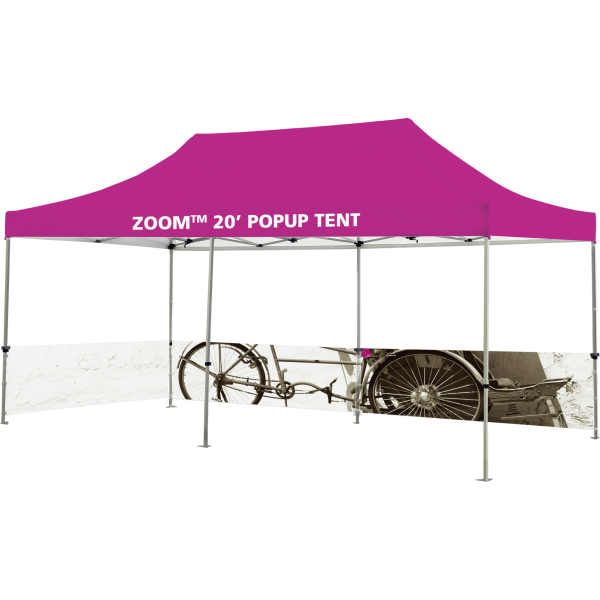 Zoom 20 Popup Tent Half Wall Kit